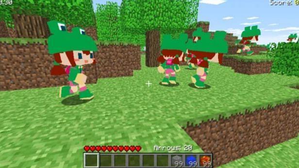 Animal Crossing much? (Image via Minecraft.gamepedia)