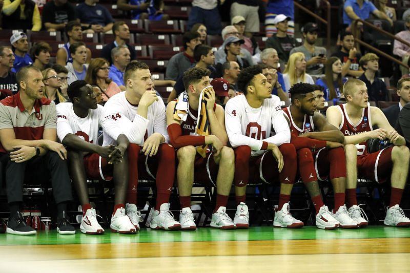 Oklahoma Sooners bench