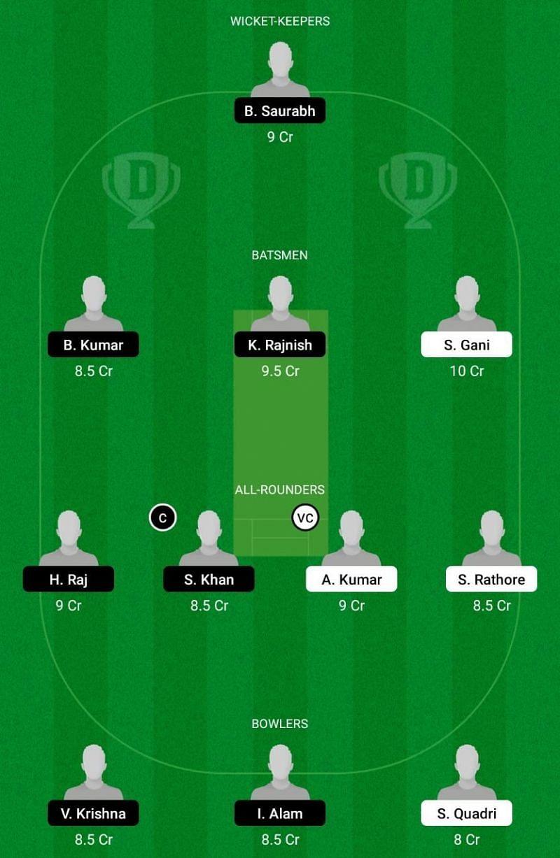 PP vs DD Dream11 Team - Bihar Cricket League T20