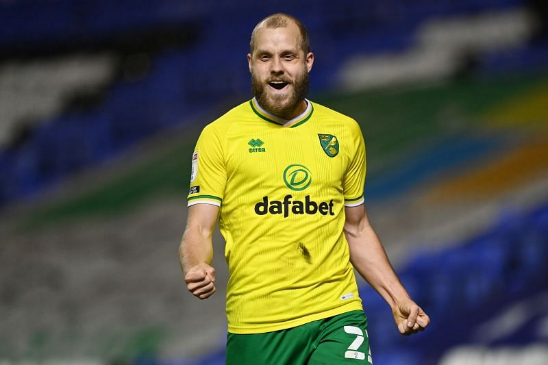 Norwich City play Brentford on Wednesday