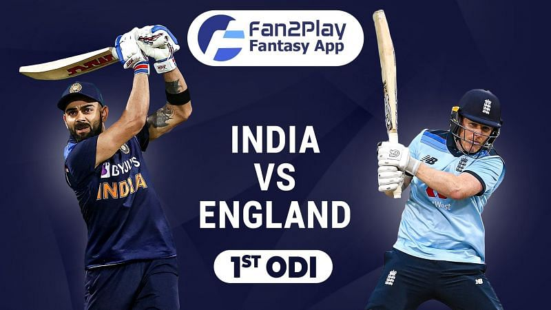 IND v ENG 1st ODI Fan2Play Team Suggestion
