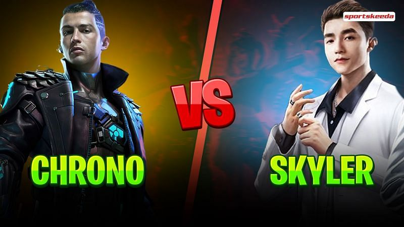 Chrono and Skyler are two popular characters with active abilities in Garena Free Fire
