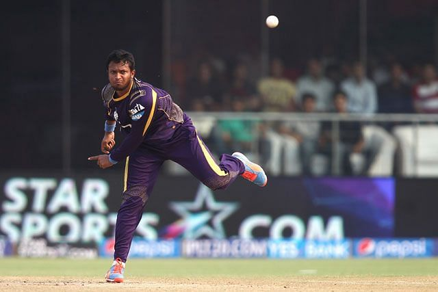 Shakib Al Hasan has returned to the Kolkata Knight Riders