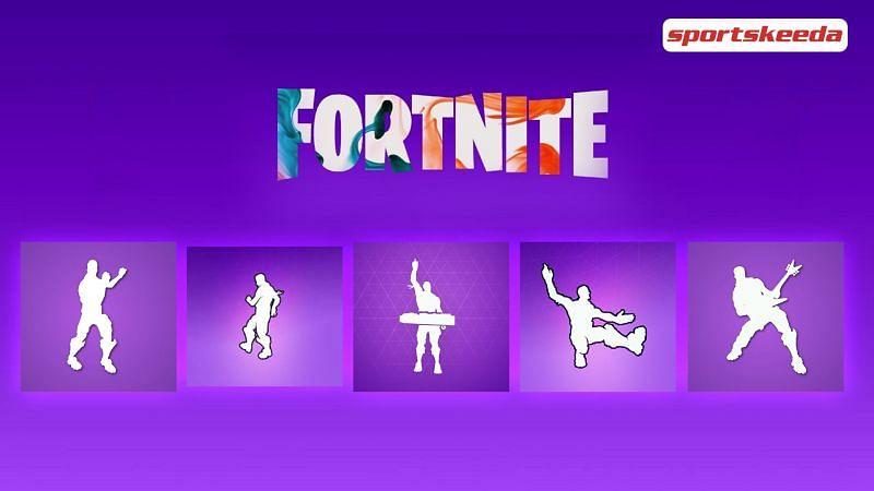 Some of the most epic Fortnite dances (Image via Sportskeeda)