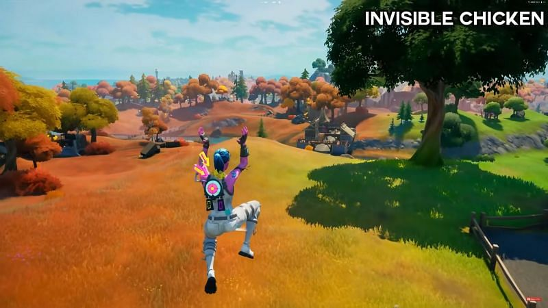 Every player needs an invisible chicken in Fortnite Season 6