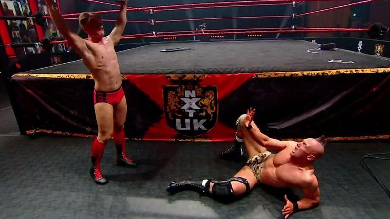 Ilja Dragunov faced Sam Gradwell in the main event of NXT UK