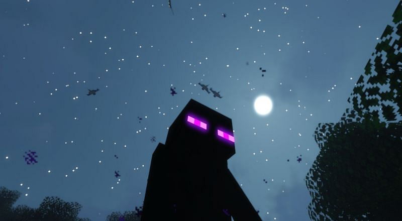 Endermen drop Ender Pearls in Minecraft (Image via Minecraft)