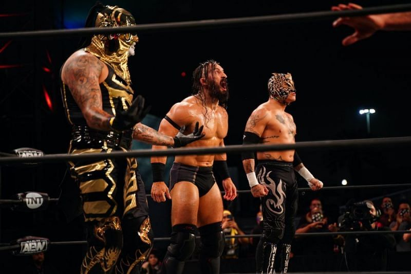 PAC and Rey Fenix will be in tag team action tonight on AEW Dynamite.