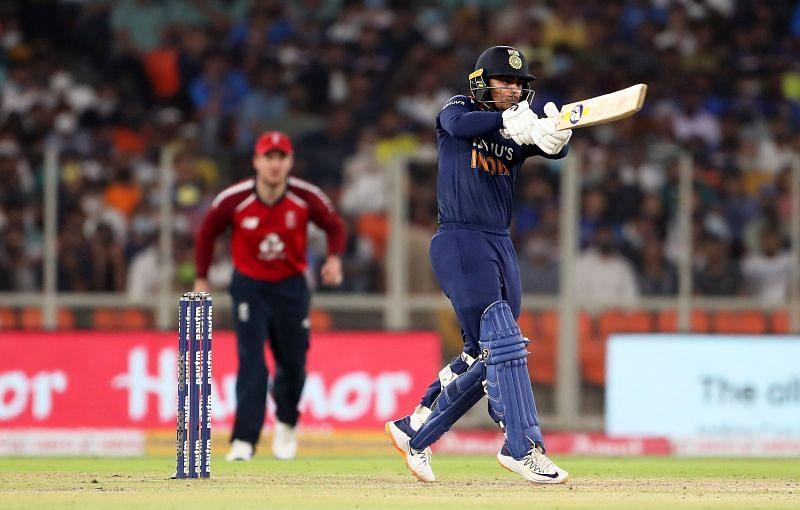 Ishan Kishan smashed a blazing half-century on his T20I debut for Team India