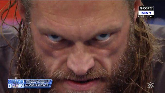 Edge finally turned heel on SmackDown