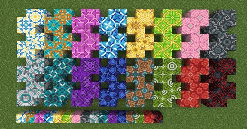 Glazed terracotta patterns (Image via reddit.com)