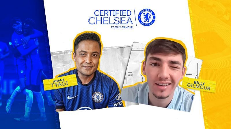 Billy Gilmour is one of Chelsea