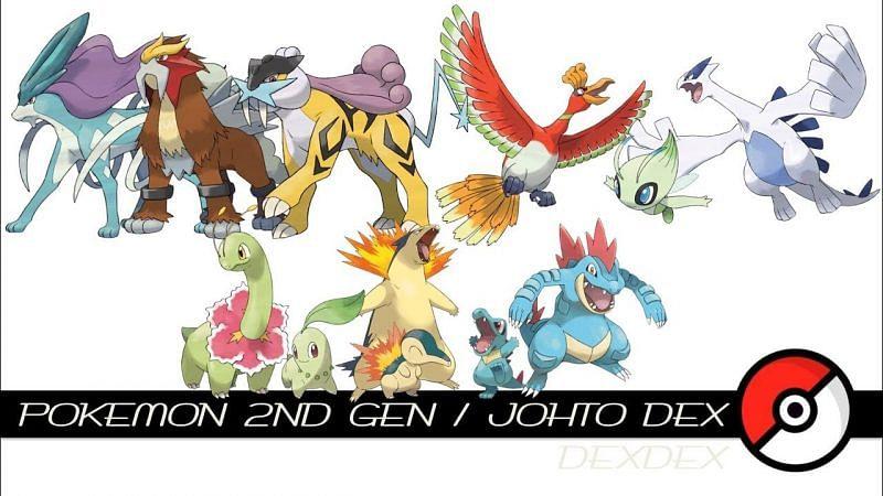 Johto Pokemon (Image via Tom Salazar on YouTube)