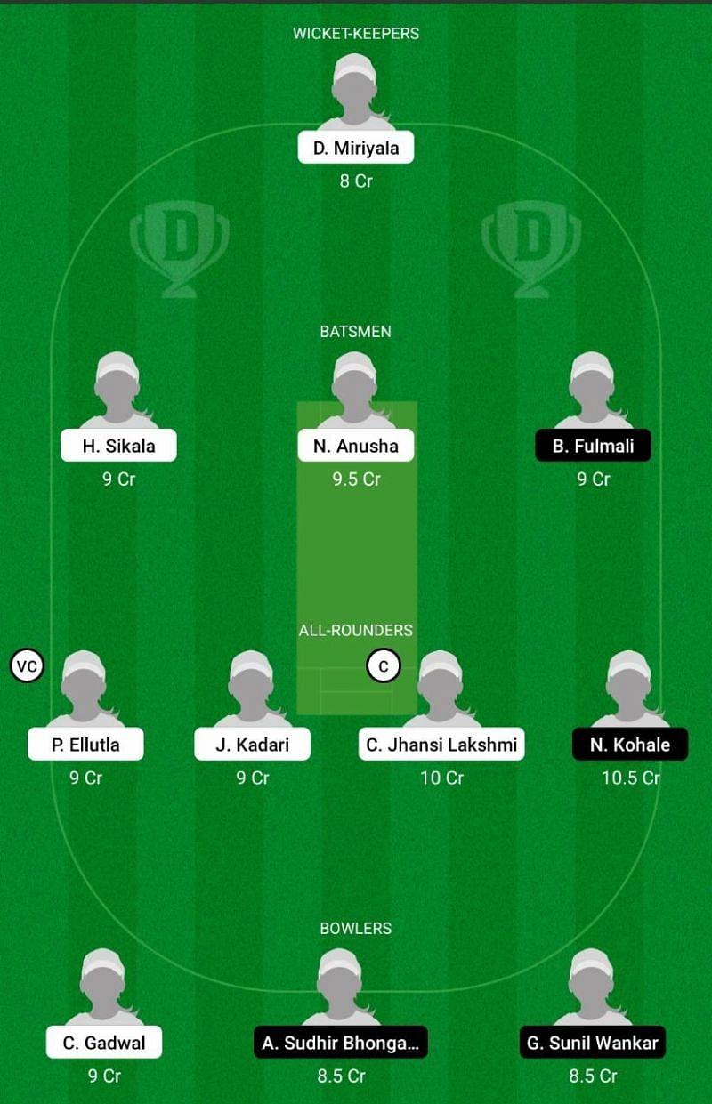 AND-W vs VID-W Dream11 Team Prediction