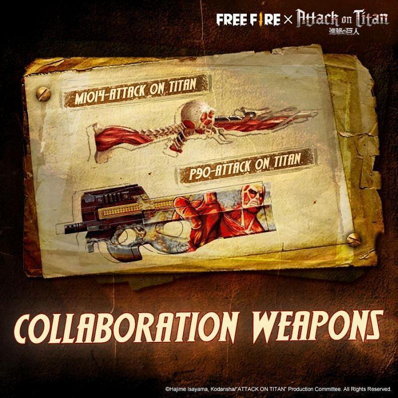 Armas de colaboração