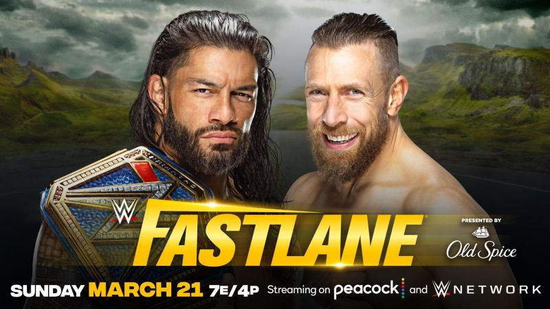 Roman Reigns will defend the Universal Championship against Daniel Bryan at Fastlane