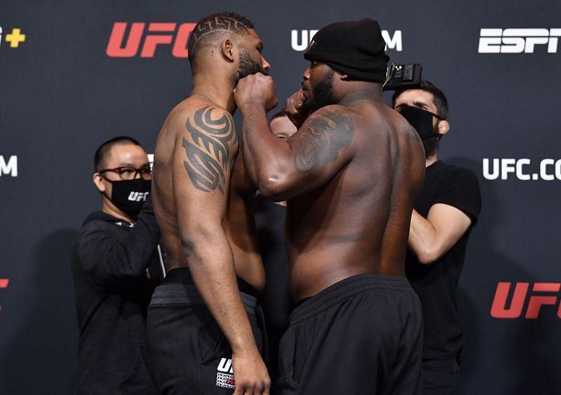 UFC Fight Night Blaydes v Lewis: Weigh-Ins