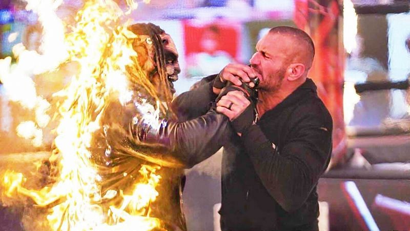 Randy Orton showed no mercy to the Fiend in their previous encounter