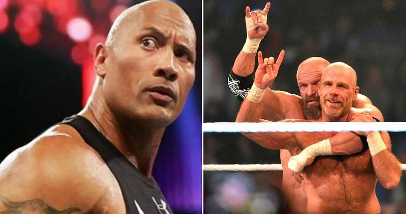 The Rock and DX