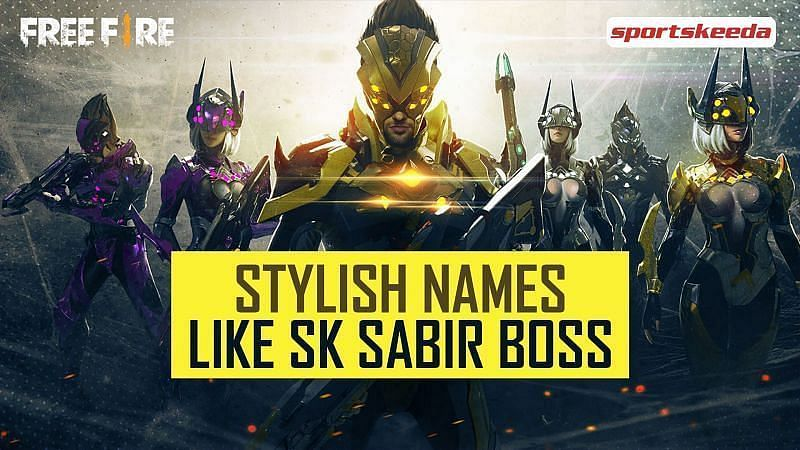 Some Free Fire players want to have cool IGNs that are similar to that of SK Sabir Boss (Image via Sportskeeda)
