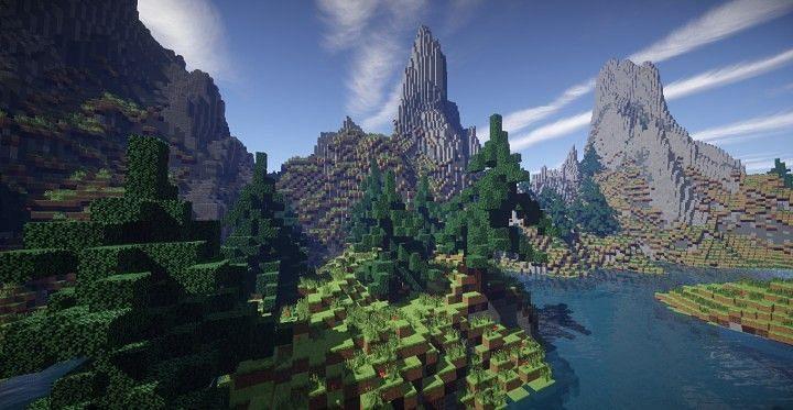 Minecraft terraform (Image via planetminecraft.com)