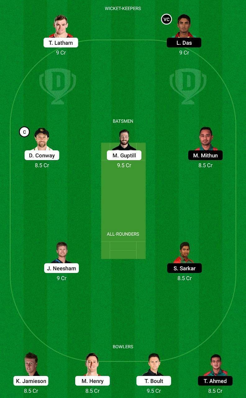 NZ vs BAN 3rd ODI Dream11 Tips