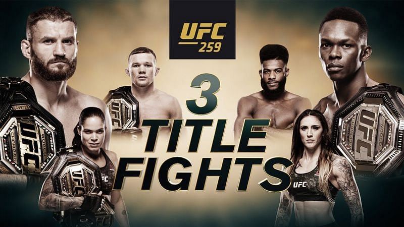 UFC 259 PPV event is scheduled to take place on March 6, 2021.