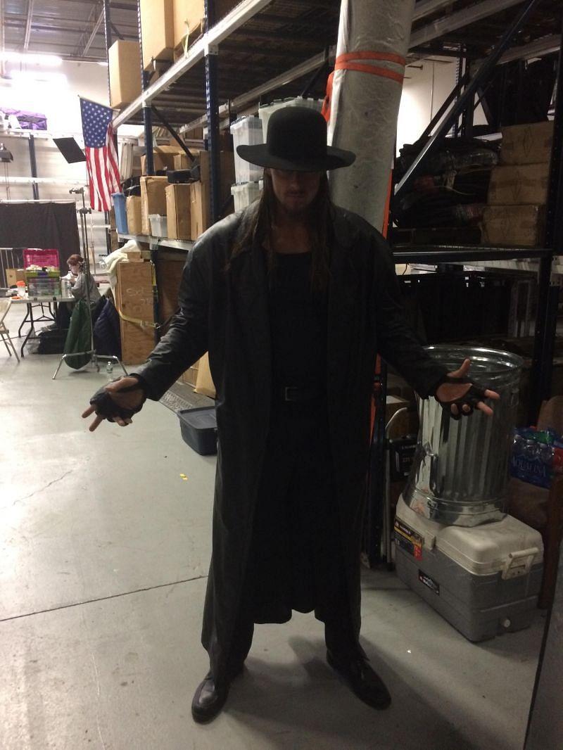 Big Cass as The Undertaker