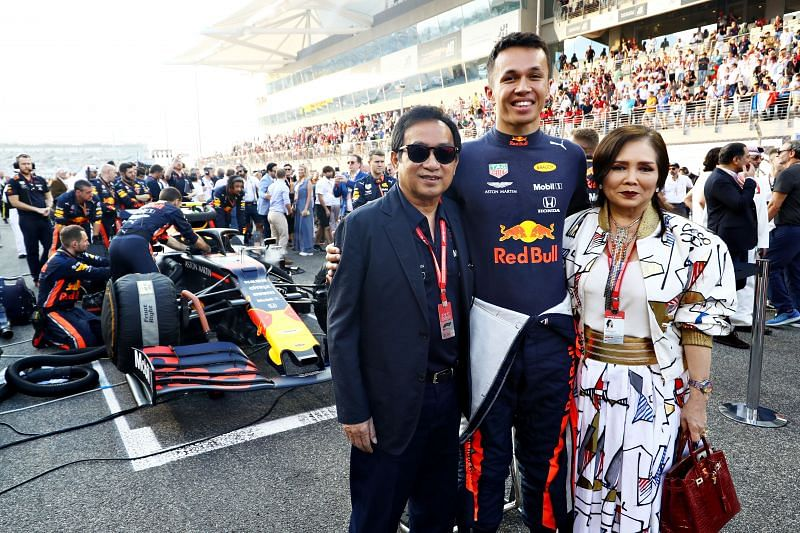 Chalerm Yoovidhya (left) is the majority owner of Red Bull. Photo: Mark Thompson/Getty Images.