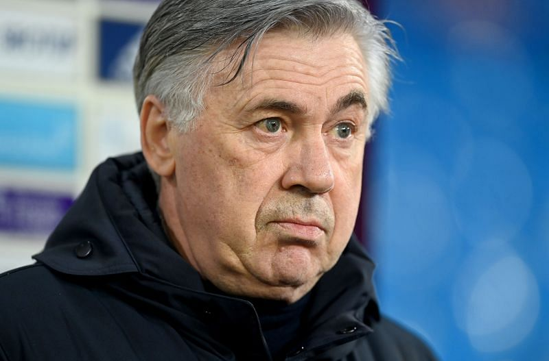 Carlo Ancelotti set his side up in a low-block against Manchester City.