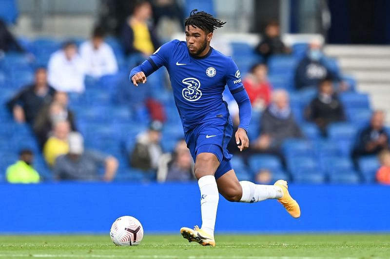 Reece James has been used as a right-wing back under Tuchel