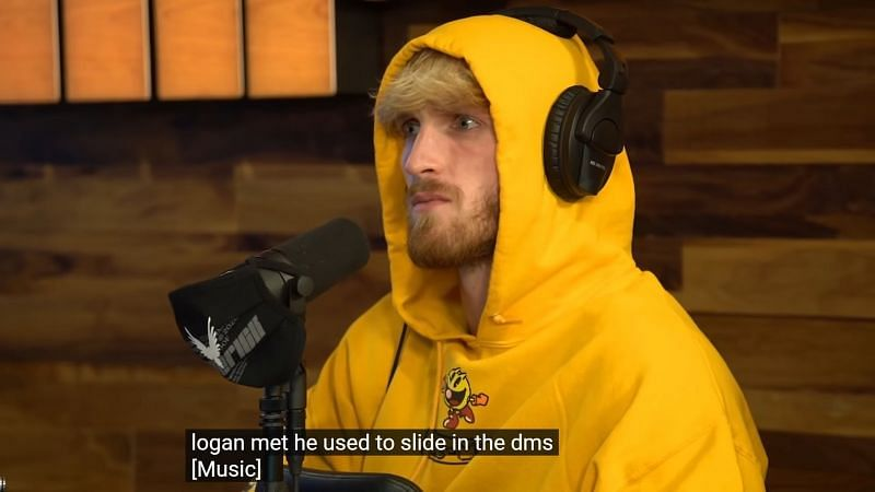 Logan Paul was shocked after hearing what Sommer had to say (Image via YouTube/IMPAULSIVE Clips)