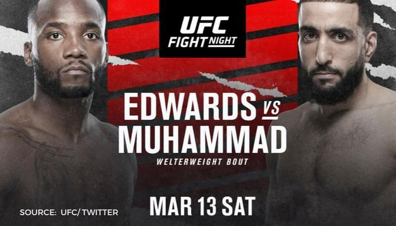 Leon Edwards faces Belal Muhammad in this weekend