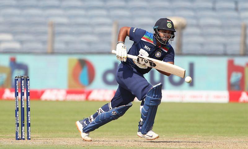 Rishabh Pant registered his highest ODI score on Sunday
