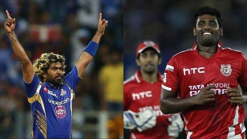 Lasith Malinga and Thisara Perera were a part of the IPL-winning teams
