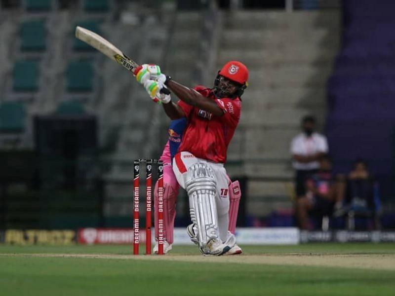 Chris Gayle in IPL 2020