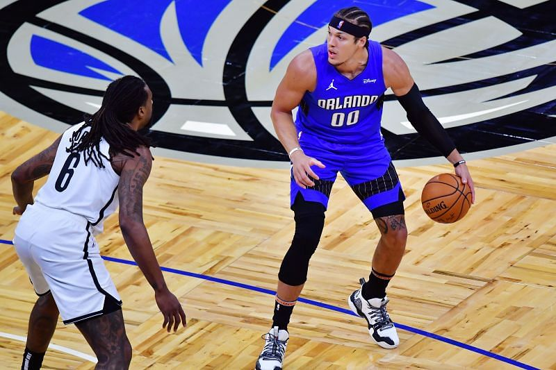 Aaron Gordon was on fire for the Orlando Magic on Friday
