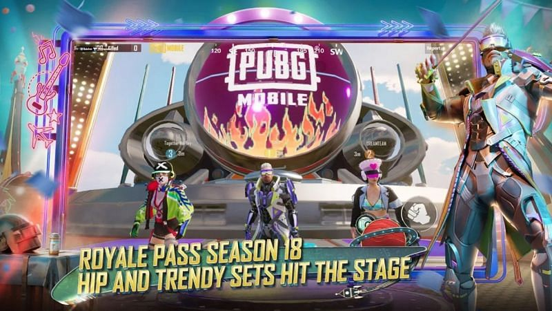 The Season 18 Royale Pass began a few days back in PUBG Mobile (Image via PUBG Mobile)