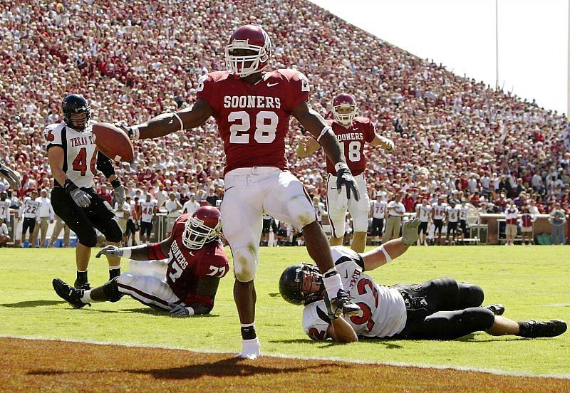 Oklahoma Sooners RB Adrian Peterson