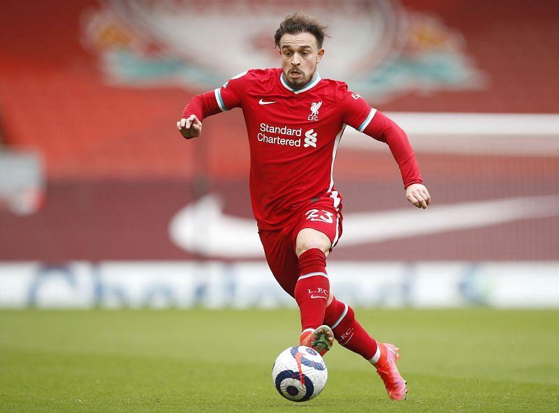Xherdan Shaqiri in Premier League action for Liverpool
