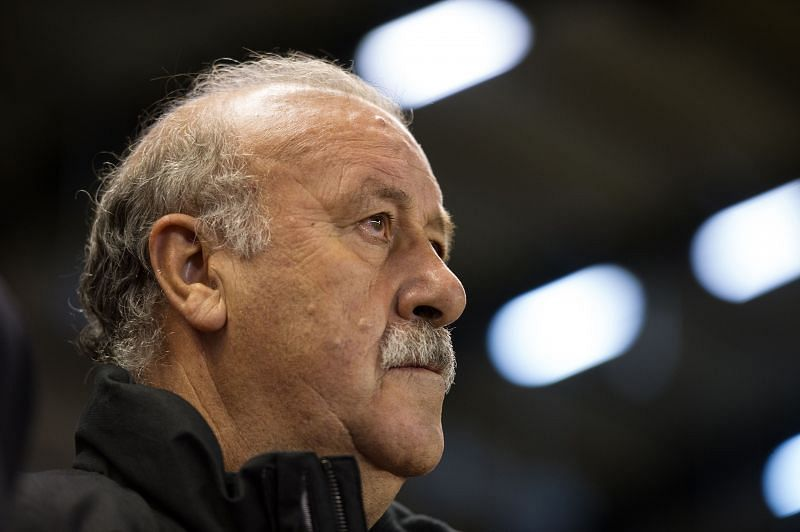 Vicente del Bosque managed Real Madrid for four years