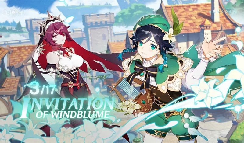 The invitation of Windblume event is ongoing in the game (Image via Genshin Impact, YouTube)
