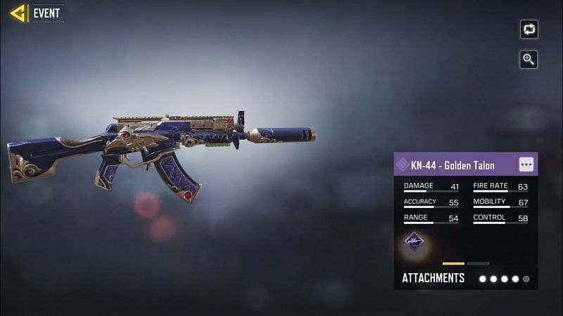 How to get the KN-44 - Golden Talon blueprint for free in COD Mobile Season 2 - Sportskeeda
