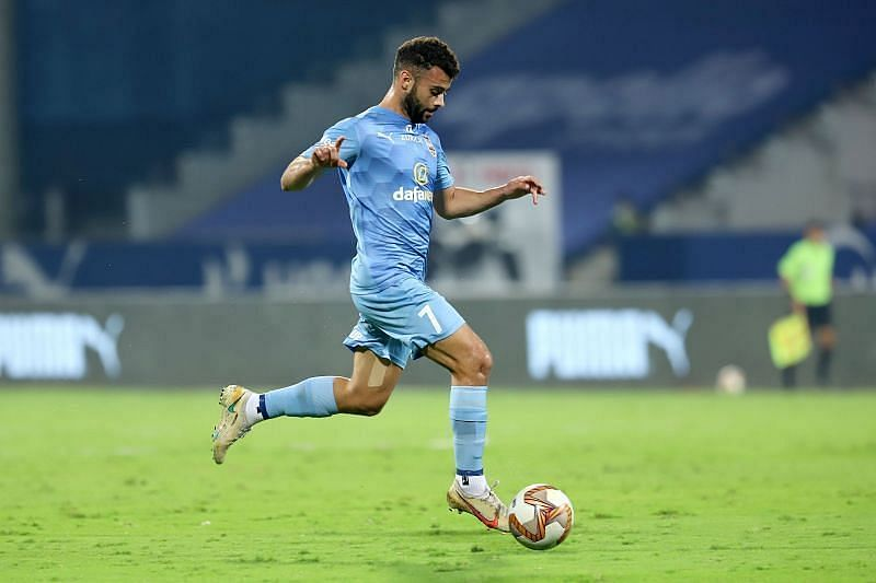 Hugo Boumous played a crucial role in the Mumbai City FC attack (Courtesy - ISL)