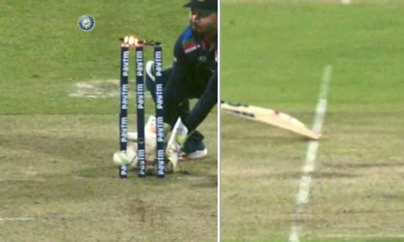 Yuvraj Singh thinks Ben Stokes was run out. Pic: BCCI