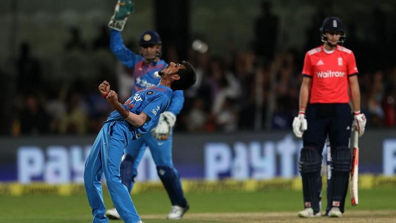 Yuzvendra Chahal became the second player after Ajantha Mendis to claim a 6-for in T20Is (Photo: ICC)