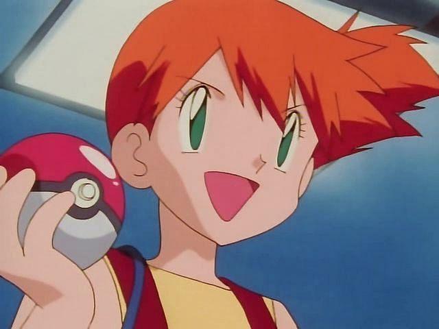 Misty in the anime (Image via The Pokemon Company)