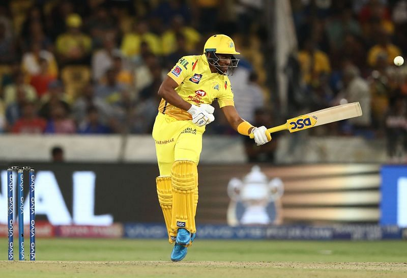 Dwayne Bravo in action for CSK