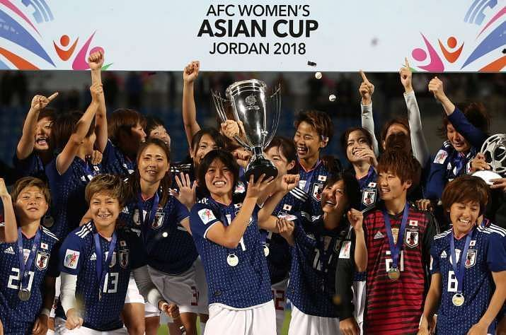Japan are the defending champions of the AFC Women