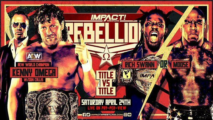 Will Kenny Omega walk away with the AEW and IMPACT Wrestling World Titles?